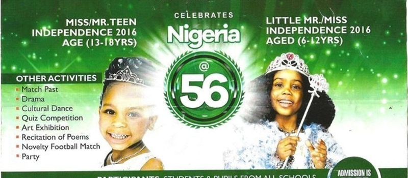 Independence Day Pageantry Show Nigeria 2016