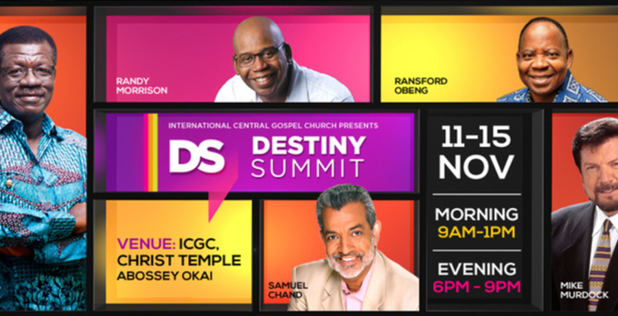 ICGC Destiny Summit 2013