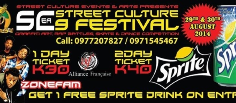 STREET CULTURE 9 FESTIVAL: Zambia Turns 50 Years Young!