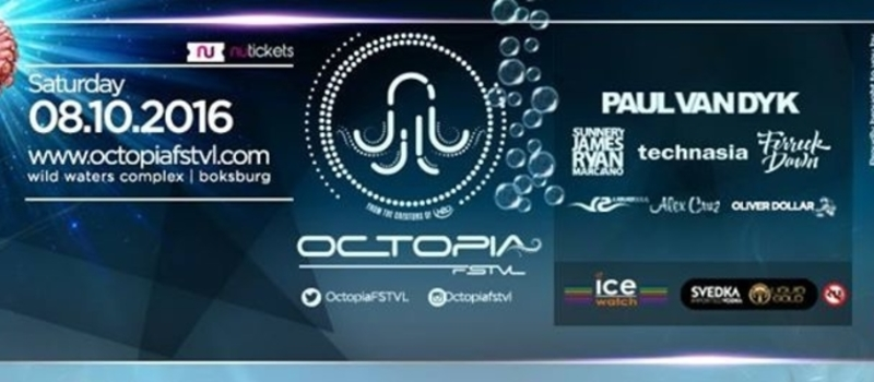 Paul van Dyk at Octopia Festival, Johannesburg, South Africa