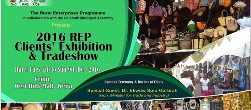 2016 REP Clients Exhibition and Trade, Accra