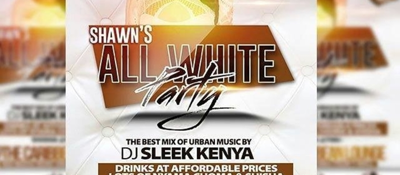 Shawn's all white party.