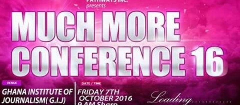 MUCH MORE CONFERENCE