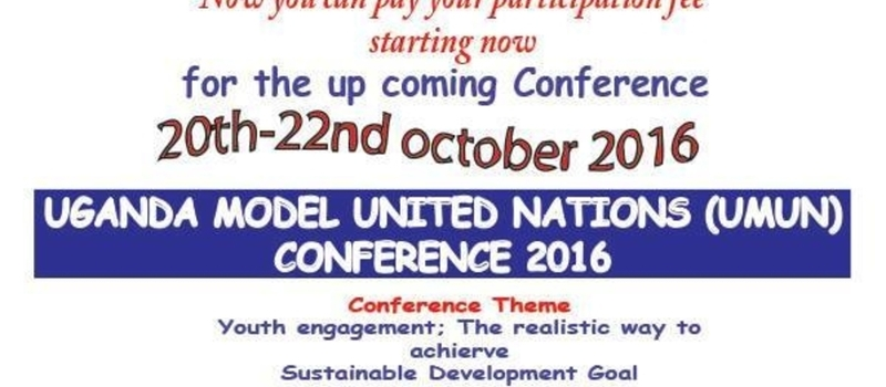 Uganda Model United Nations UMUN 2016 Conference
