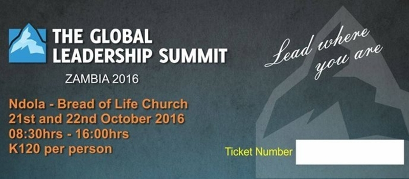 Global Leadership Summit Zambia 2016
