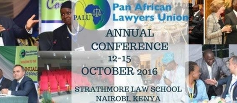 PALU 2016 - Pan African Lawyers Union - Annual Conference