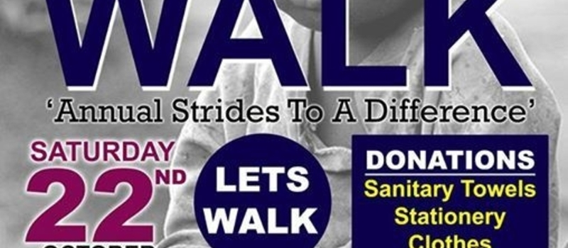 Strides To Difference Charity Walk