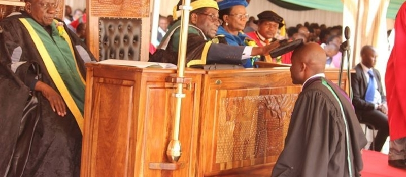 Great Zimbabwe University Graduation 2016
