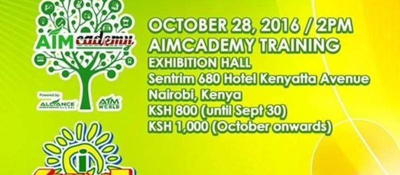 Aim Global Kenya Grand Launch
