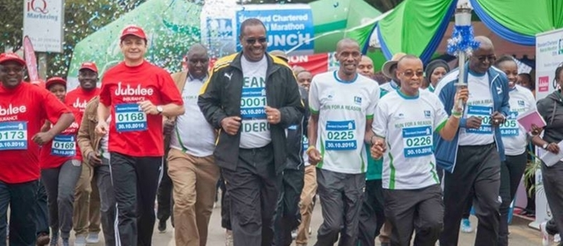 Run For A Reason Standard Chartered #Nairobi Marathon 2016