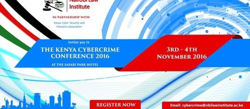 The Kenya CyberCrime Conference 2016