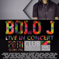 Bolo J live in concert