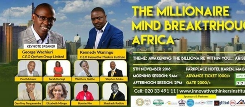 Millionaires Mind Breakthrough Africa Conference