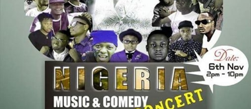 Nigeria Music And Comedy  Concert
