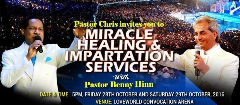 MHIS with Pastor Chris &Pastor Benny Hinn