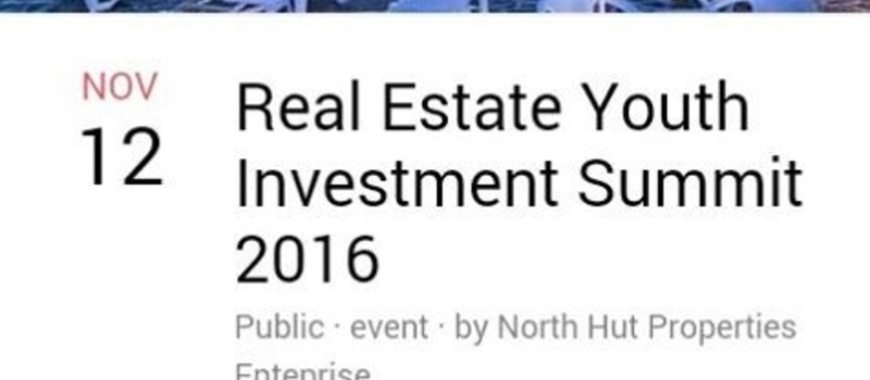 Real Estate Youth Investment Summit 2016