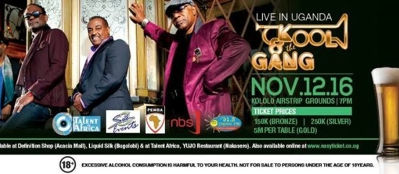Kool & The Gang Live in UG!