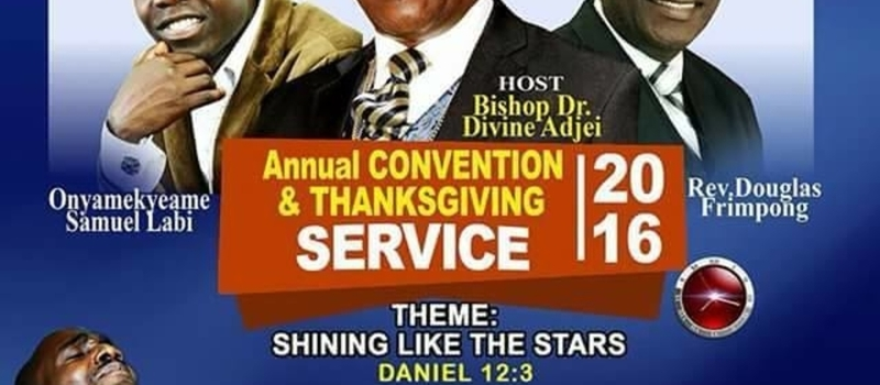 Annual Convention And Thanksgiving 2016