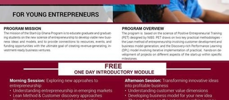 Start-Up Ghana Program