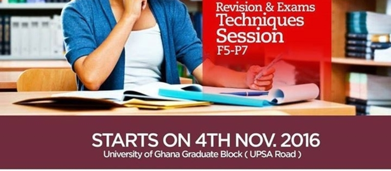 Free Revision and Exams Techniques Session (F7,P1,P4)