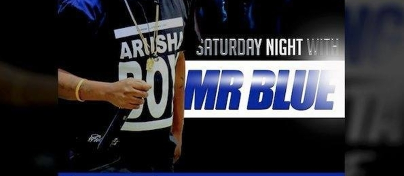 Le patio presents this saturday: party nighty with mr Blue