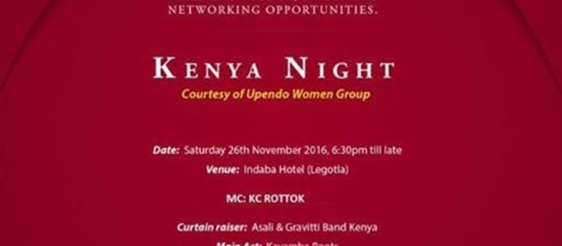 Kenya Night 2016