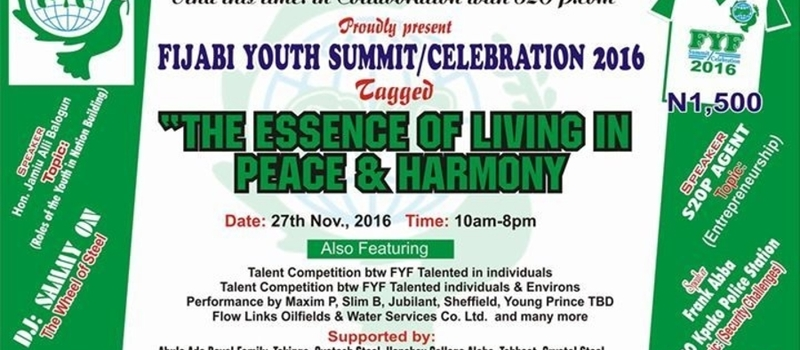 Fijabi Youth Summit /celebration