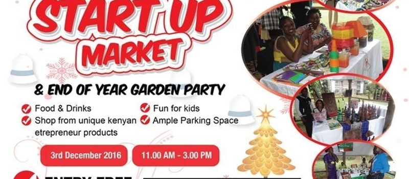Startup Market and Christmas Party, December 3rd 2016
