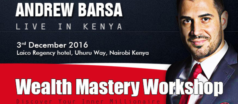 Wealth Mastery - Discover Your Inner Millionaire with Andrew Barsa