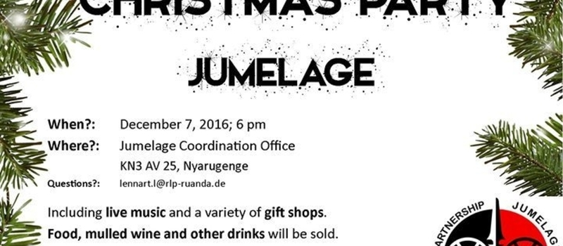 Christmas Party at Jumelage