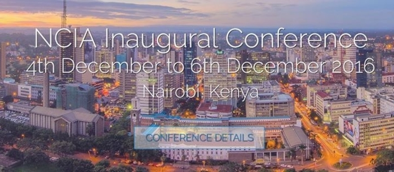 NCIA Inaugural Conference 4th - 6th December 2016
