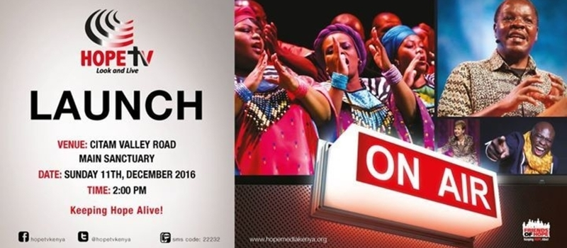 Friends of Hope Thanksgiving Service and Launch of Hope TV Kenya