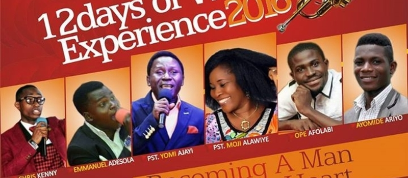 12days of worship experience (Becoming a Man After GOD'S Heart)