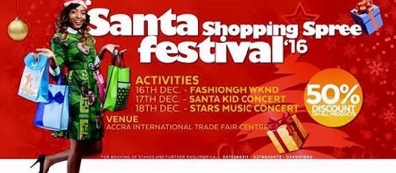 Santa Shopping Spree Festival