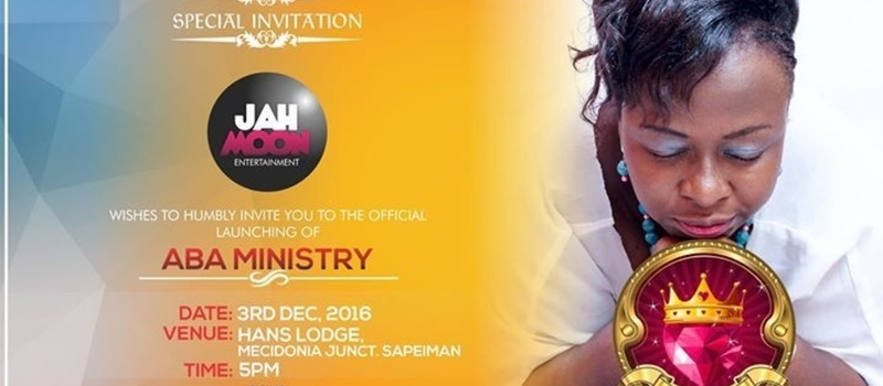 Official Launch of Aba Ministry