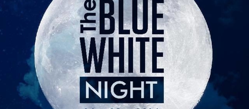 The Blue- White Night