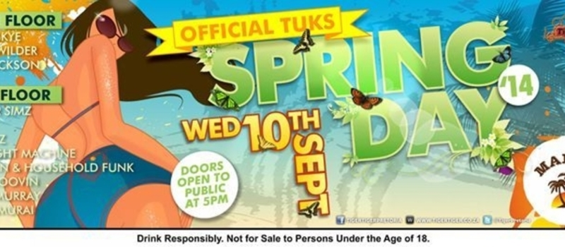 OFFICIAL TUKS SPRING DAY