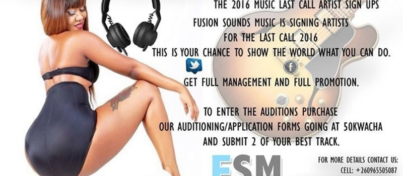 The Fusion Sounds Music End Of Year Artist Signup Party
