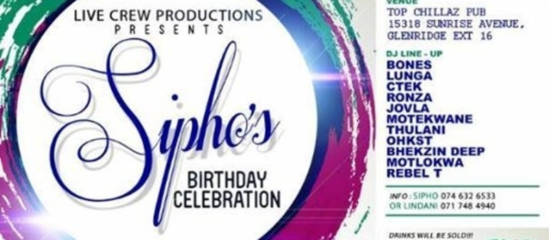 Sipho's Birthday Party Celebration