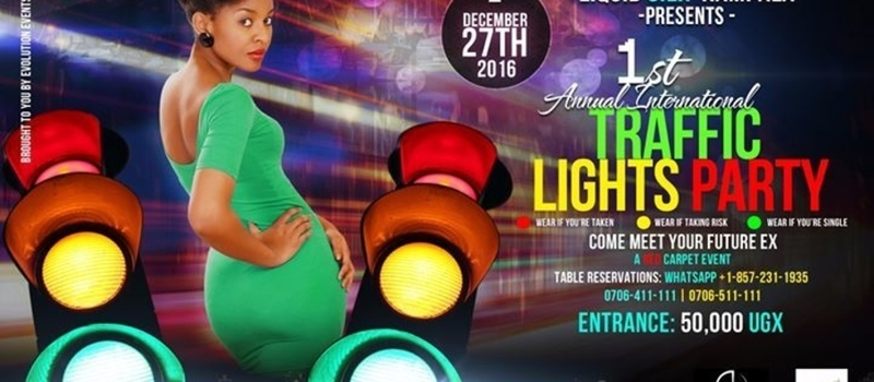 1st Annual International Traffic Lights Party Kampala