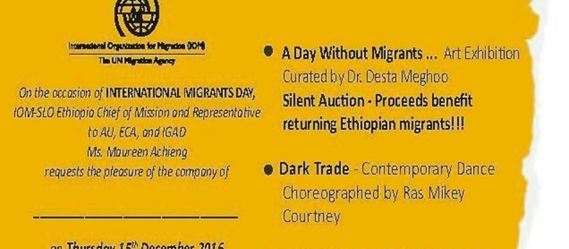 International Migrants Day Art exhibition