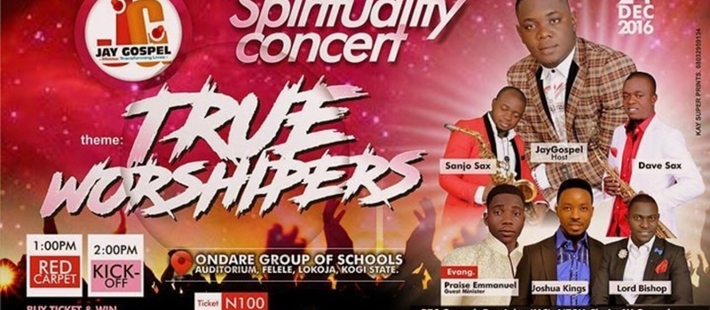 SPIRITUALITY CONCERT°°°TRUE WORSHIPPERS