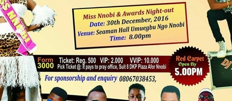 Nnobi Night Out 2016