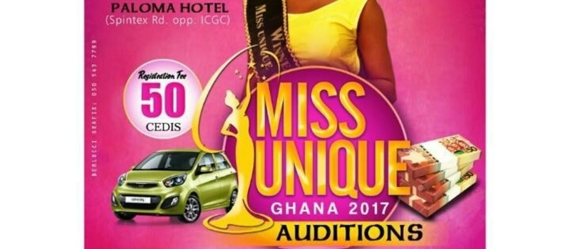 MISS UNIQUE GHANA 2017 ACCRA AUDITIONS