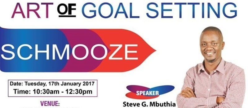 The Art of Goal setting for success in 2017, 17th January 2017