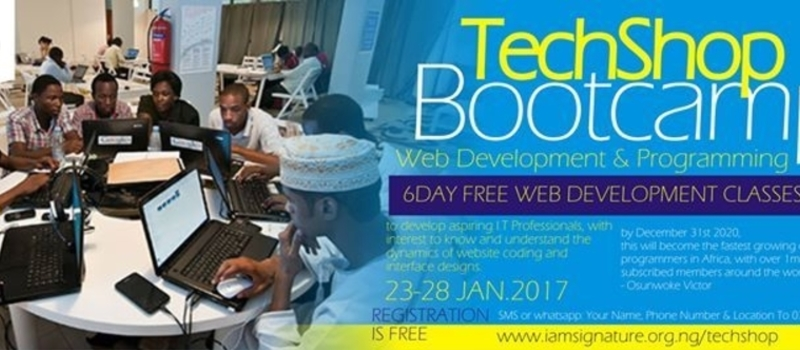 TechShop BootCamp 2017