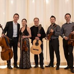 Casal Quartet with guitarist Han Jonker
