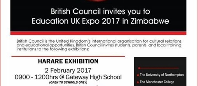 Education UK Expo 2017 (Harare Exhibition)