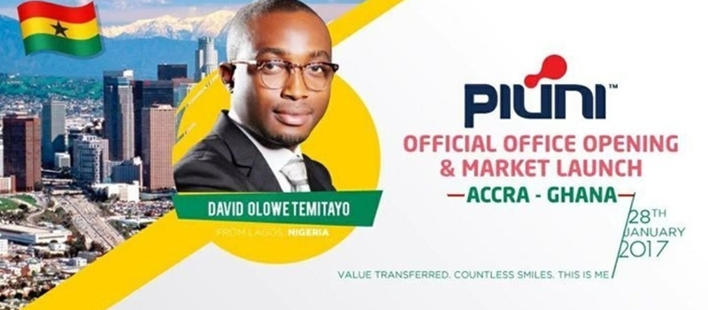 Piuni Official Office Opening  Accra- Ghana Market Launch