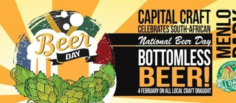 South African National Beer Day - Bottomless Beer